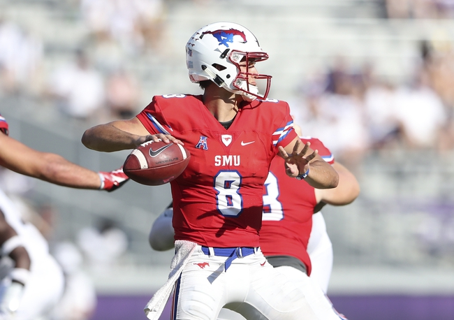 SMU vs. Arkansas State - 9/23/17 College Football Pick, Odds, and Prediction