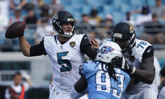 Jacksonville Jaguars at Tennessee Titans - 12/31/17 NFL Pick, Odds, and Prediction