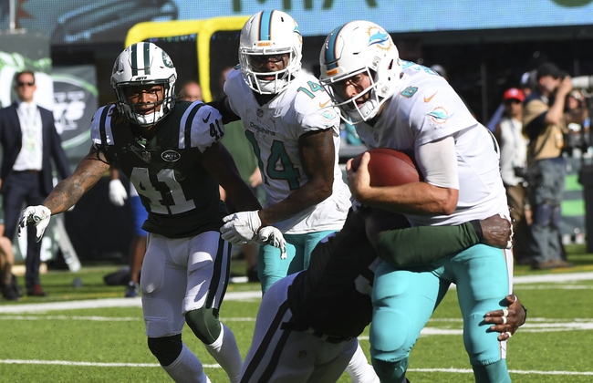 Miami Dolphins vs. New York Jets - 10/22/17 NFL Pick, Odds, and Prediction