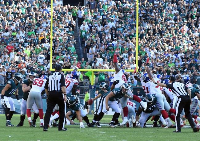 New York Giants vs. Philadelphia Eagles - 12/17/17 NFL Pick, Odds, and Prediction