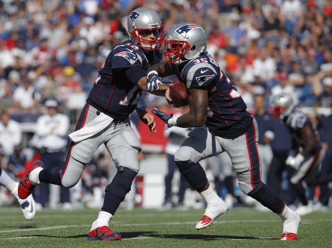 Carolina Panthers at New England Patriots - 10/1/17 NFL Pick, Odds, and Prediction