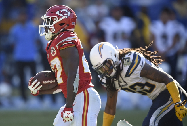 Kansas City Chiefs vs. Los Angeles Chargers - 12/16/17 NFL Pick, Odds, and Prediction