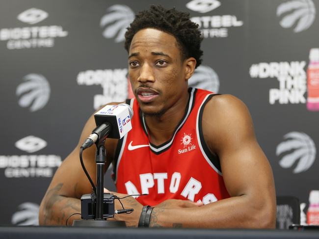 Detroit Pistons vs. Toronto Raptors - 10/10/17 NBA Pick, Odds, and Prediction
