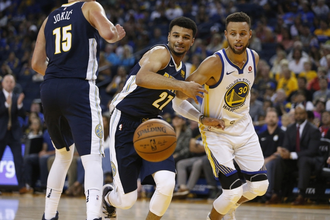 Denver Nuggets vs. Golden State Warriors - 11/4/17 NBA Pick, Odds, and Prediction