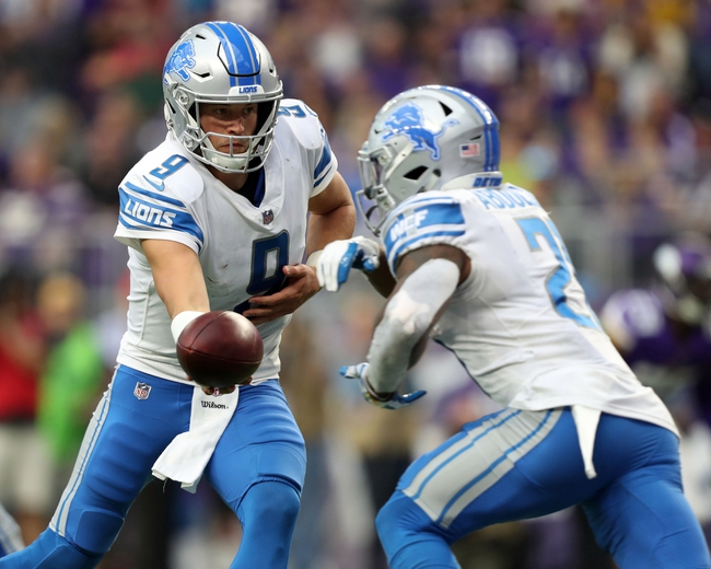 Detroit Lions vs. Carolina Panthers - 10/8/17 NFL Pick, Odds, and Prediction