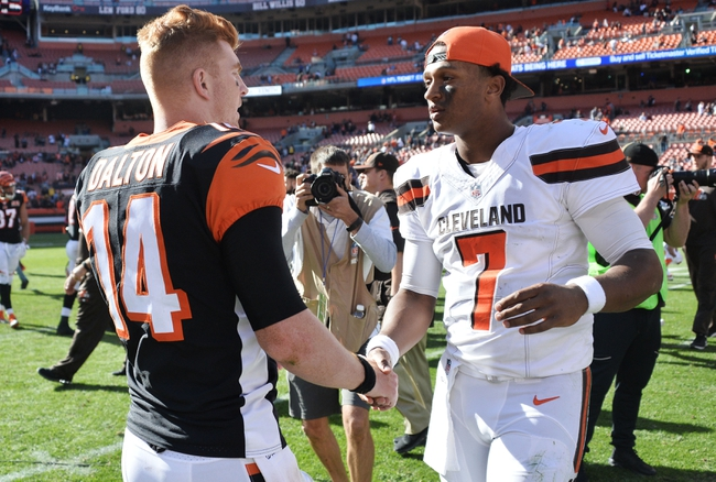 Cleveland Browns at Cincinnati Bengals - 11/26/17 NFL Pick, Odds, and Prediction