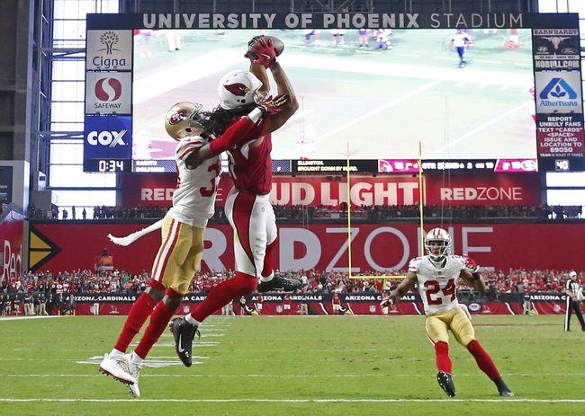 San Francisco 49ers vs. Arizona Cardinals - 11/5/17 NFL Pick, Odds, and Prediction