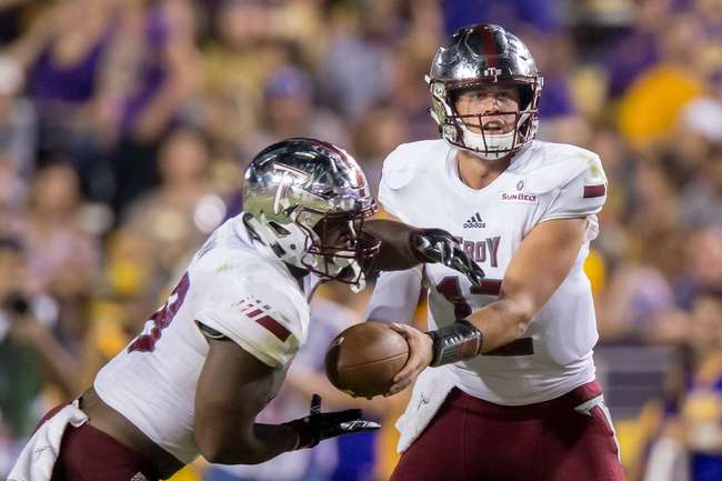 Coastal Carolina vs. Troy - 11/11/17 College Football Pick, Odds, and Prediction