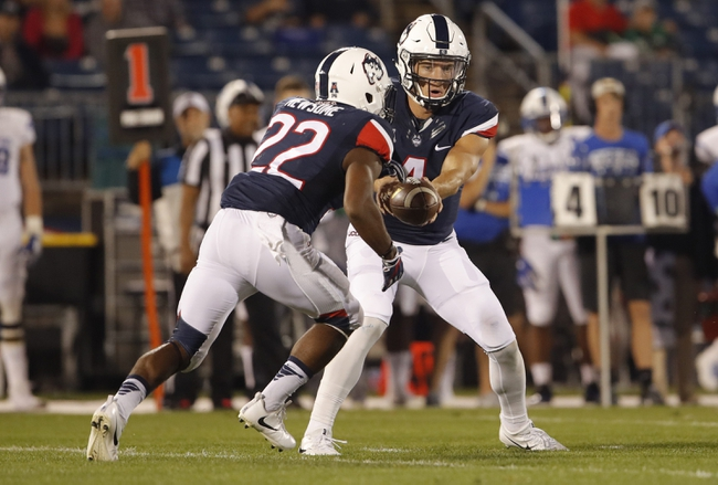 UCONN vs. Tulsa - 10/21/17 College Football Pick, Odds, and Prediction