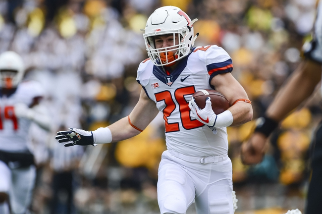 Illinois vs. Indiana - 11/11/17 College Football Pick, Odds, and Prediction