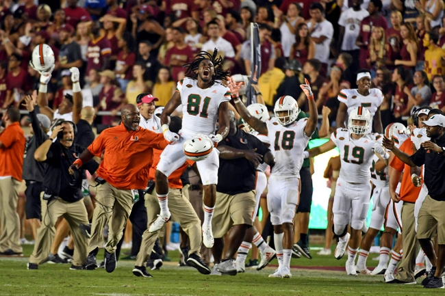 Florida State at Miami - 10/6/18 College Football Pick, Odds, and Prediction