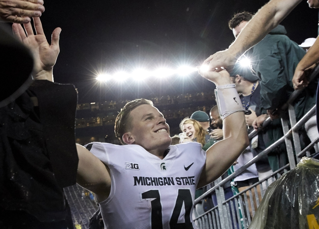 Michigan State vs. Indiana - 10/21/17 College Football Pick, Odds, and Prediction