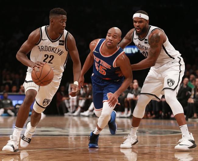 New York Knicks vs. Brooklyn Nets - 10/27/17 NBA Pick, Odds, and Prediction