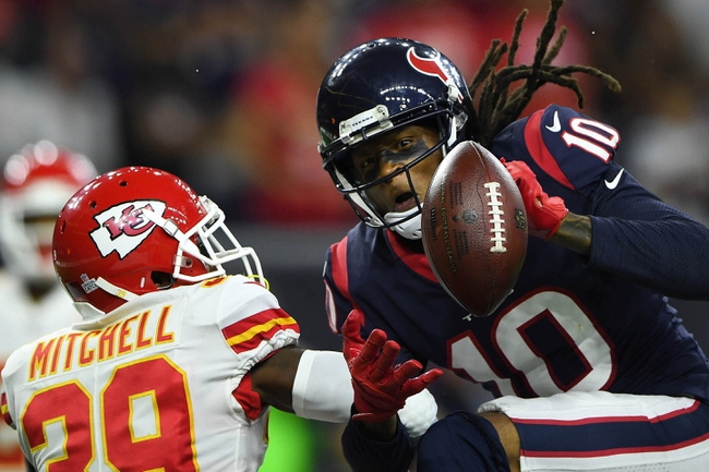 Houston Texans at Kansas City Chiefs - 8/9/18 NFL Pick, Odds, and Prediction