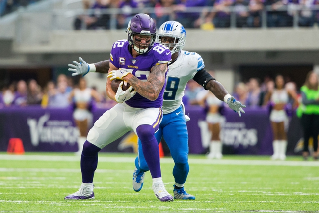 Minnesota Vikings at Detroit Lions - 11/23/17 NFL Pick, Odds, and Prediction