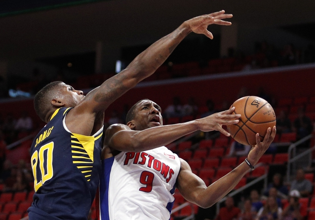 Detroit Pistons vs. Indiana Pacers - 11/8/17 NBA Pick, Odds, and Prediction