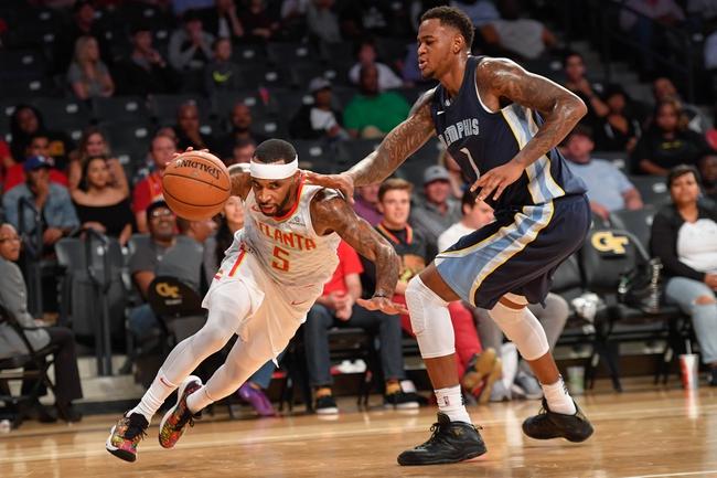 Memphis Grizzlies vs. Atlanta Hawks - 12/15/17 NBA Pick, Odds, and Prediction