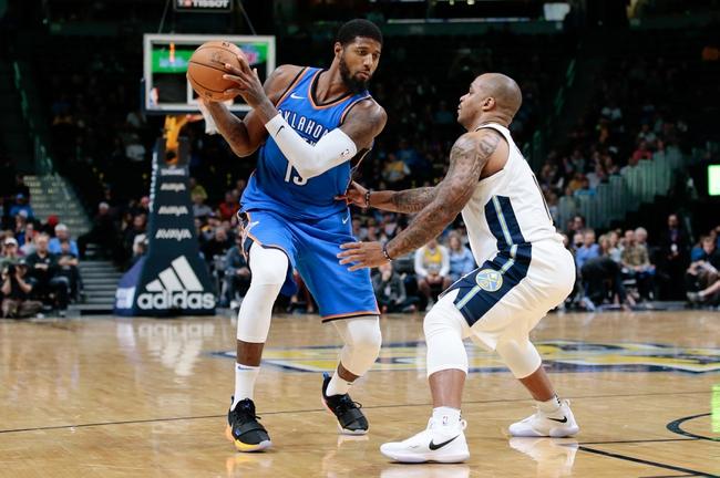 Denver Nuggets vs. Oklahoma City Thunder - 11/9/17 NBA Pick, Odds, and Prediction