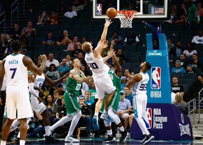 Boston Celtics vs. Charlotte Hornets - 11/10/17 NBA Pick, Odds, and Prediction