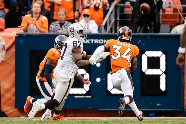 Oakland Raiders vs. Denver Broncos - 11/26/17 NFL Pick, Odds, and Prediction