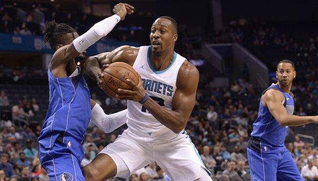 Charlotte Hornets vs. Dallas Mavericks - 1/10/18 NBA Pick, Odds, and Prediction