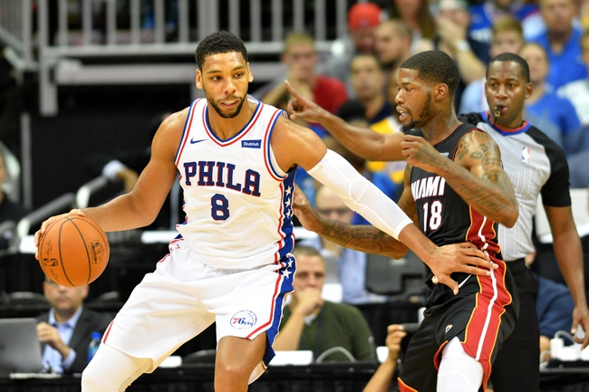 Philadelphia 76ers vs. Miami Heat - 2/2/18 NBA Pick, Odds, and Prediction