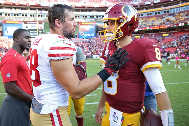 Washington Redskins vs. San Francisco 49ers - 10/20/19 NFL Pick, Odds, and Prediction