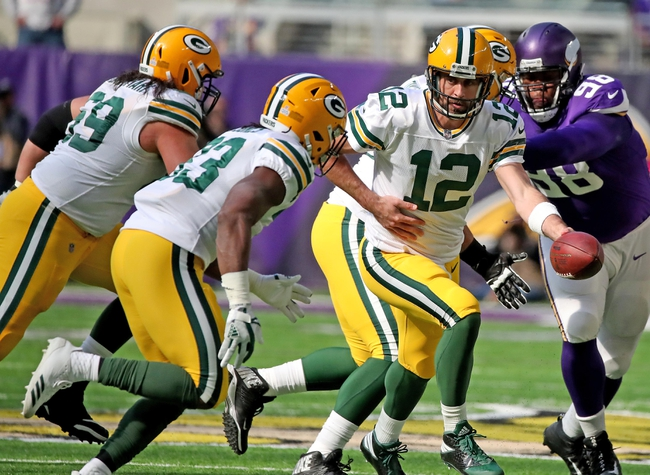 Green Bay Packers vs. Minnesota Vikings - 12/23/17 NFL Pick, Odds, and Prediction