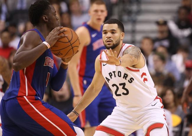 Toronto Raptors vs. Detroit Pistons - 1/17/18 NBA Pick, Odds, and Prediction