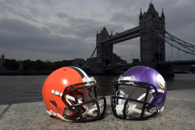Minnesota Vikings at Cleveland Browns - 10/29/17 NFL Pick, Odds, and Prediction