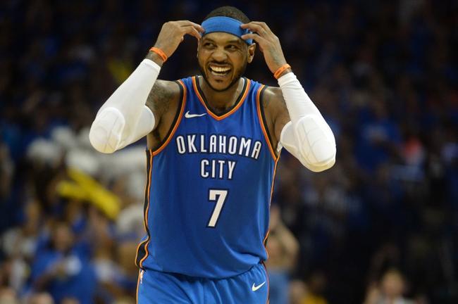 New York Knicks vs. Oklahoma City Thunder - 12/16/17 NBA Pick, Odds, and Prediction