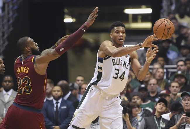 Cleveland Cavaliers vs. Milwaukee Bucks - 11/7/17 NBA Pick, Odds, and Prediction