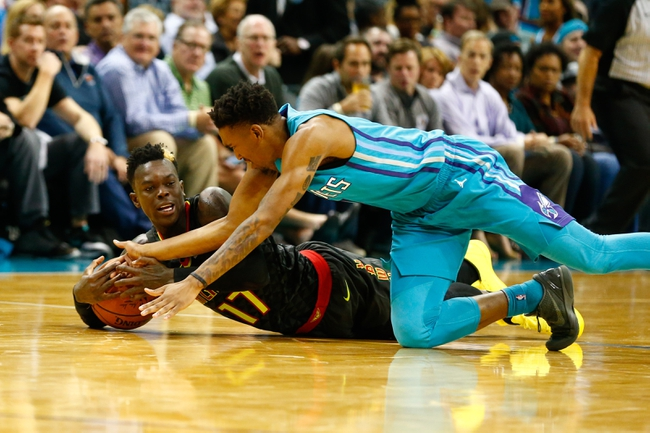 Charlotte Hornets vs. Atlanta Hawks - 1/26/18 NBA Pick, Odds, and Prediction