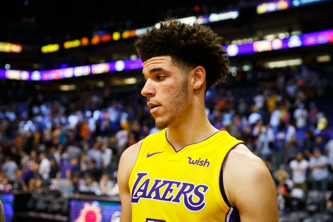 Los Angeles Lakers vs. New Orleans Pelicans - 10/22/17 NBA Pick, Odds, and Prediction