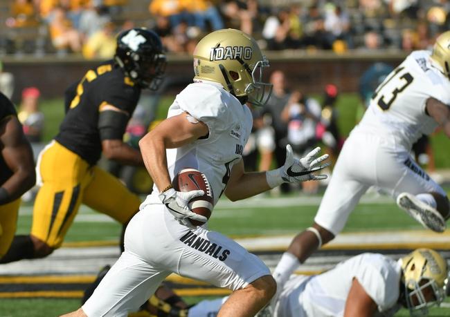 Idaho vs. Louisiana-Monroe - 10/28/17 College Football Pick, Odds, and Prediction