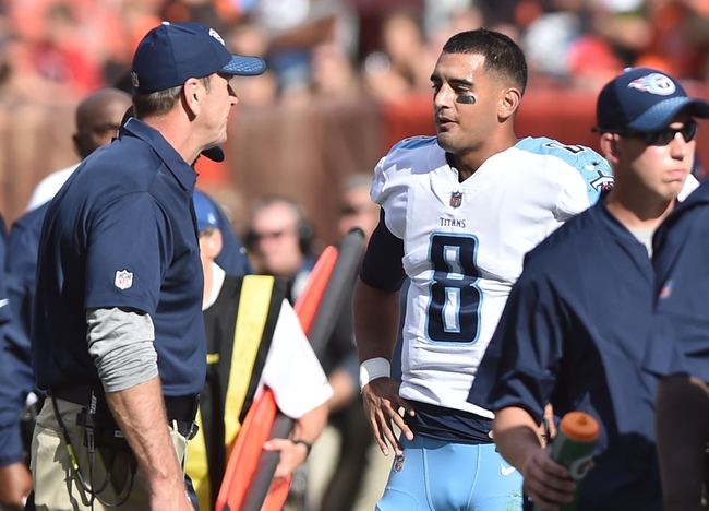 Tennessee Titans vs. Baltimore Ravens - 11/5/17 NFL Pick, Odds, and Prediction