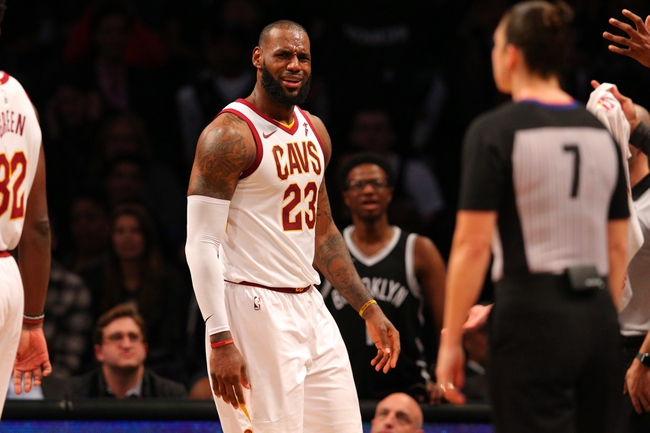 Cleveland Cavaliers vs. Brooklyn Nets - 11/22/17 NBA Pick, Odds, and Prediction