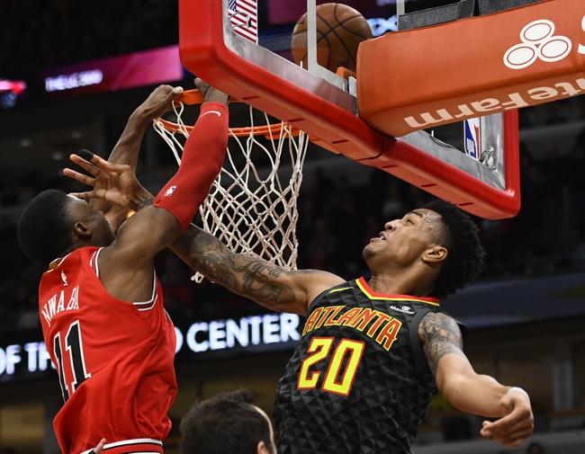 Atlanta Hawks vs. Chicago Bulls - 1/20/18 NBA Pick, Odds, and Prediction
