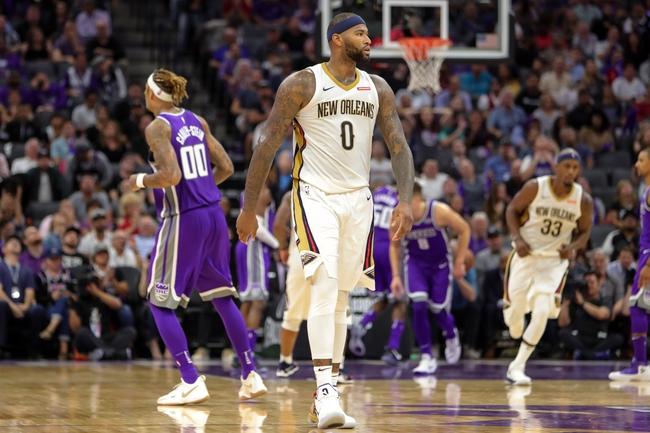 New Orleans Pelicans vs. Sacramento Kings - 12/8/17 NBA Pick, Odds, and Prediction