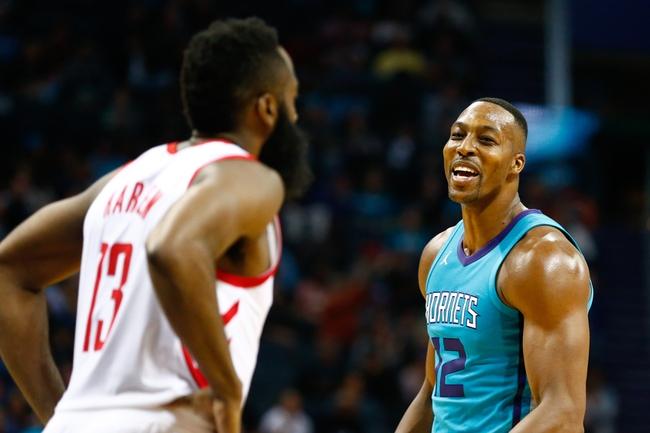Houston Rockets vs. Charlotte Hornets - 12/13/17 NBA Pick, Odds, and Prediction