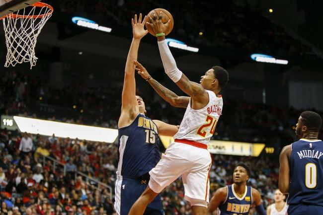Denver Nuggets vs. Atlanta Hawks - 1/10/18 NBA Pick, Odds, and Prediction