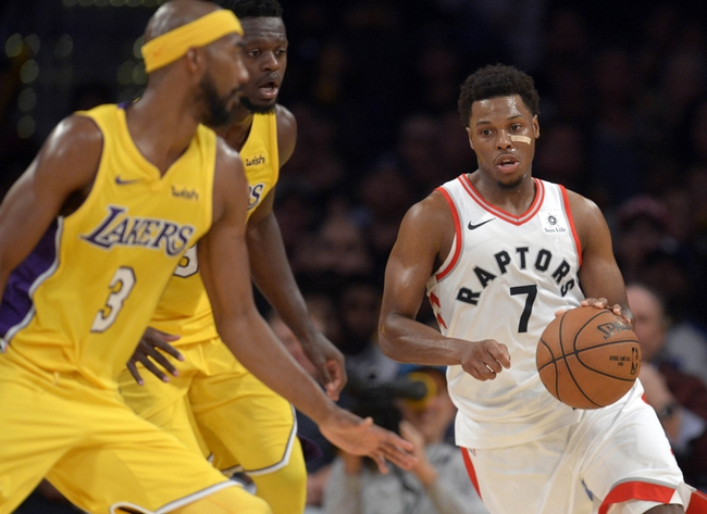 Toronto Raptors vs. Los Angeles Lakers - 1/28/18 NBA Pick, Odds, and Prediction