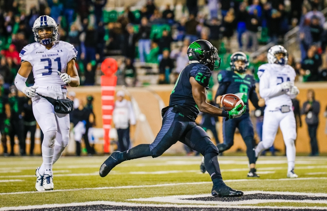 Old Dominion vs. North Texas - 11/10/18 College Football Pick, Odds, and Prediction