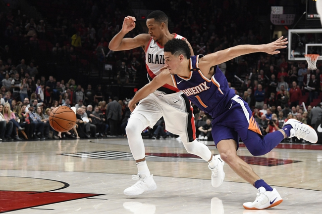 Portland Trail Blazers vs. Phoenix Suns - 1/16/18 NBA Pick, Odds, and Prediction