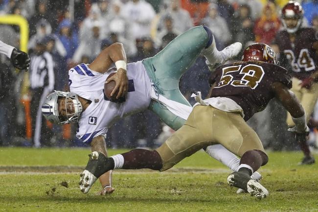 Washington Redskins at Dallas Cowboys - 11/30/17 NFL Pick, Odds, and Prediction