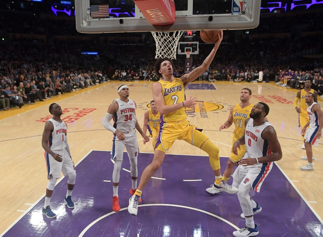 Detroit Pistons vs. Los Angeles Lakers - 3/26/18 NBA Pick, Odds, and Prediction