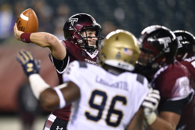 Navy vs. Temple - 10/13/18 College Football Pick, Odds, and Prediction