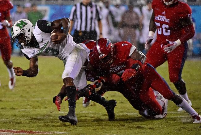 FAU vs. Marshall - 10/18/19 College Football Pick, Odds, and Prediction