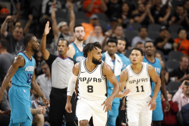 Charlotte Hornets vs. San Antonio Spurs - 11/25/17 NBA Pick, Odds, and Prediction