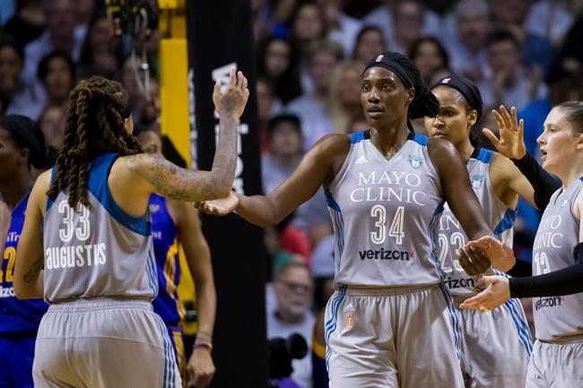Minnesota Lynx vs. Las Vegas Aces - 8/25/19 WNBA Pick, Odds, and Prediction